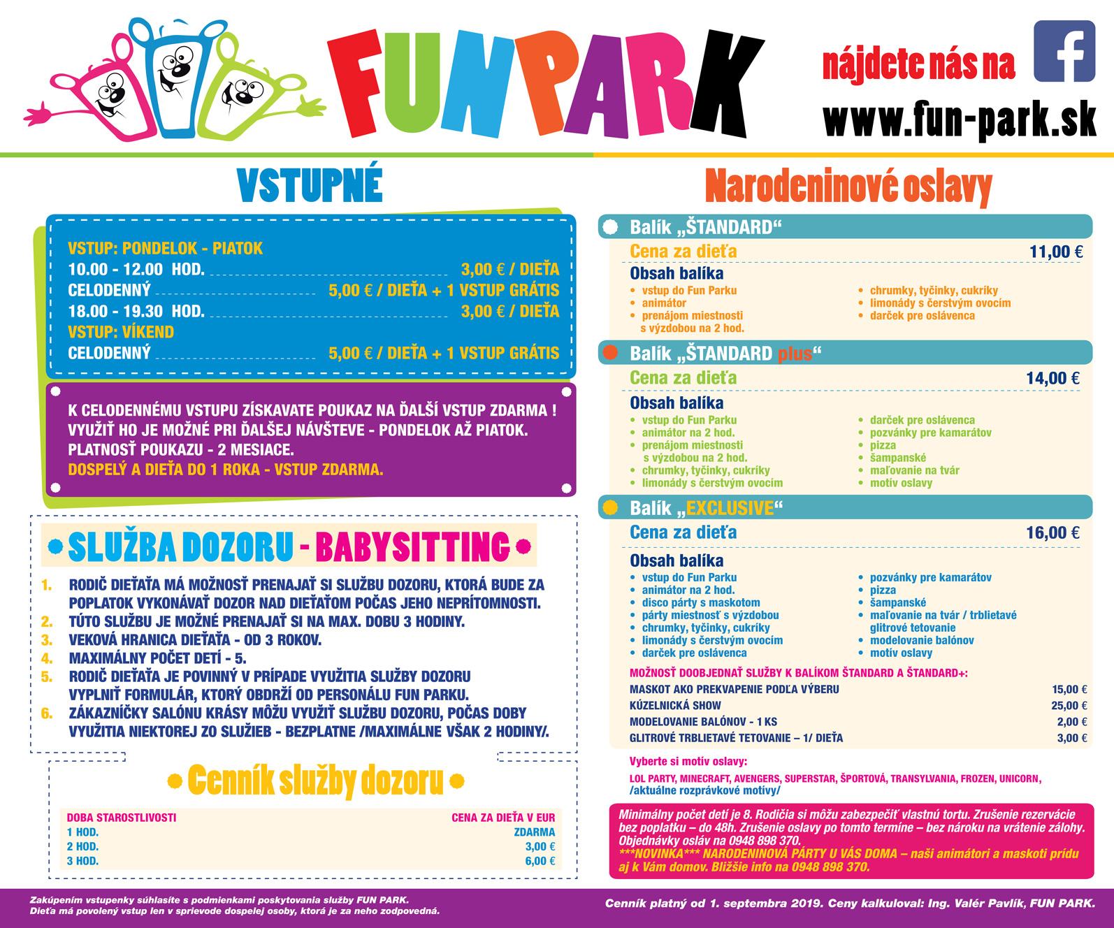 Fun-park-cennik